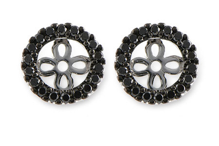 A243-28741: EARRING JACKETS .25 TW (FOR 0.75-1.00 CT TW STUDS)
