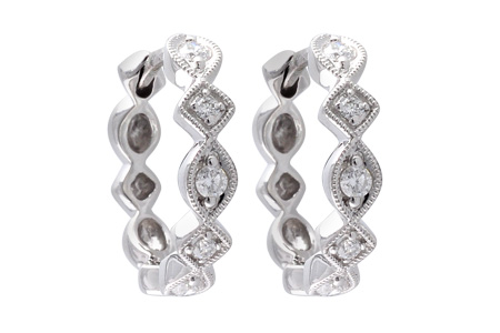 B056-00550: EARRINGS .22 TW