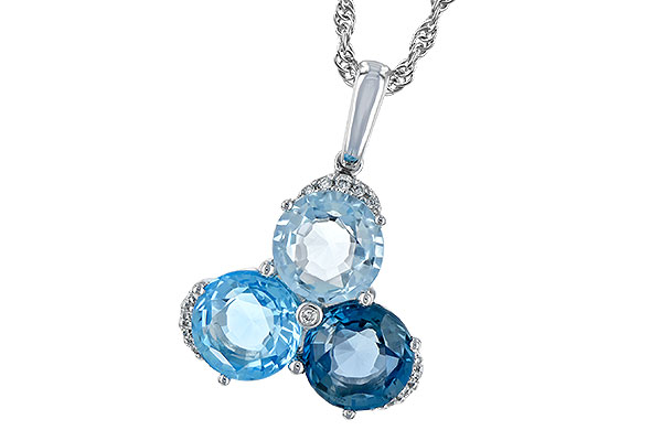 C244-19723: NECK 4.01 BLUE TOPAZ 4.06 TGW