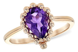 C244-22432: LDS RING 1.06 CT AMETHYST