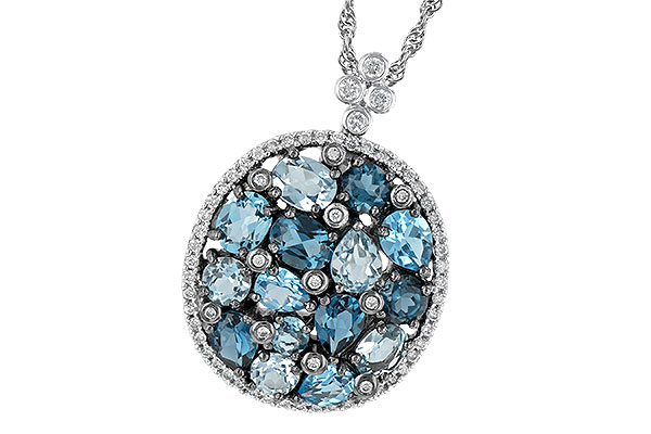 D242-40623: NECK 3.12 BLUE TOPAZ 3.41 TGW