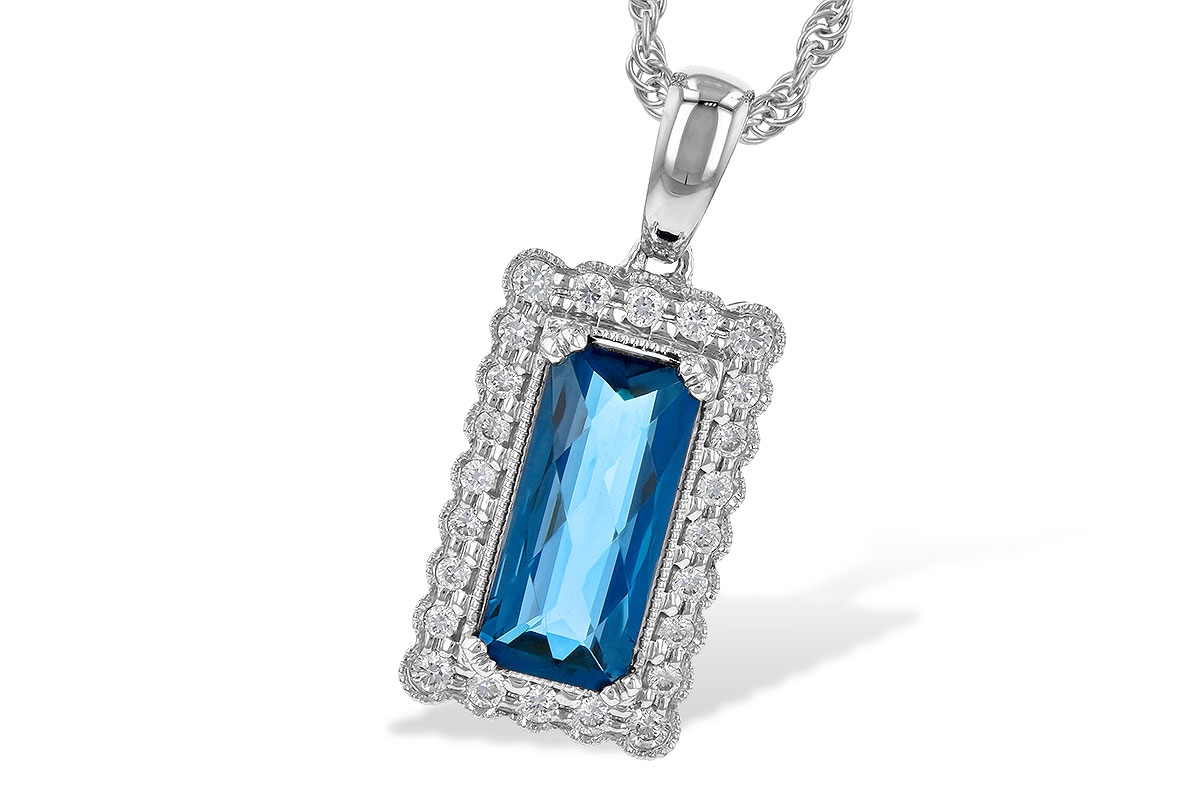 D245-16923: NECK 1.55 LONDON BLUE TOPAZ 1.70 TGW