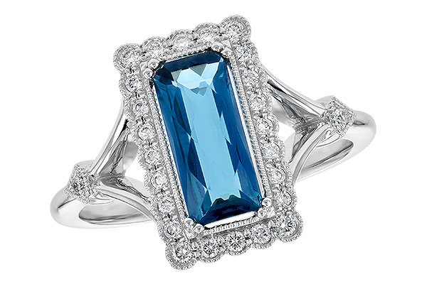E245-15168: LDS RG 1.58 LONDON BLUE TOPAZ 1.75 TGW