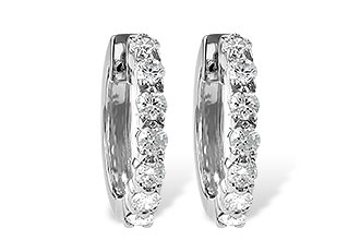 F056-03286: EARRINGS 1.00 CT TW