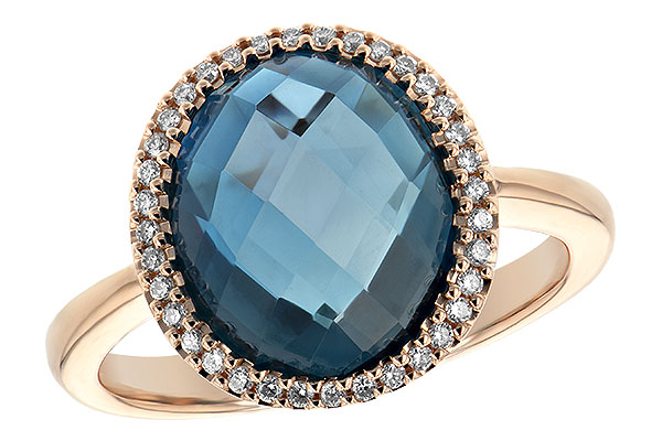 F244-20559: LDS RG 5.31 LONDON BLUE TOPAZ 5.45 TGW
