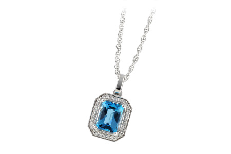 G242-39659: NECK 1.75 BLUE TOPAZ 1.86 TGW