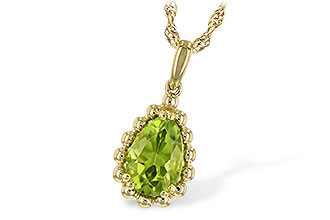 H244-22441: NECKLACE 1.30 CT PERIDOT