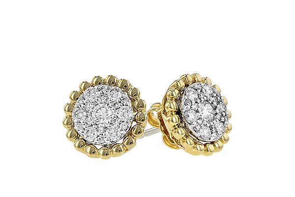 H244-26968: EARRINGS .52 TW