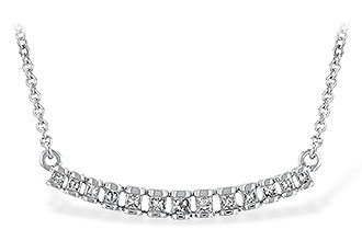 K244-25113: NECK .23 TW PRINCESS CUT DIAS