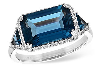 K245-11495: LDS RG 4.60 TW LONDON BLUE TOPAZ 4.82 TGW