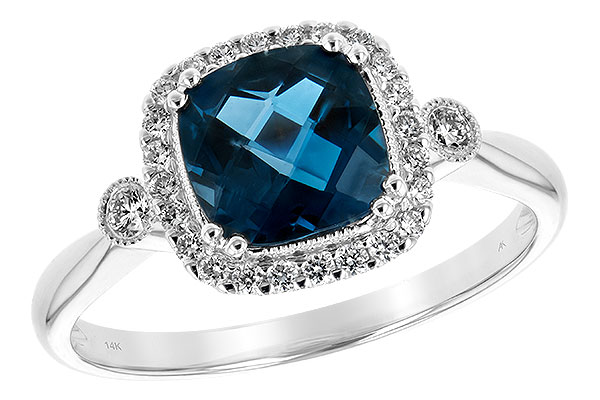 M244-19659: LDS RG 1.62 LONDON BLUE TOPAZ 1.78 TGW